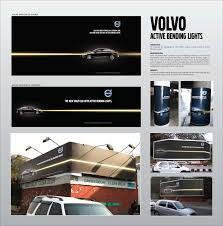 latest volvo commercial volvo outdoor advert by lintas active bending lights ads of the