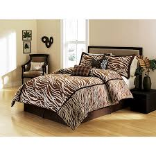 Zebra Print Bedroom Sets Bed Sheets Leopard Print Tokida For