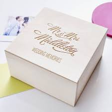 wedding gift personalised personalised wedding keepsake box