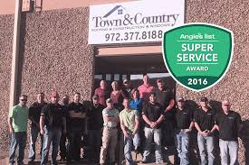 town country roofing earns esteemed 2016 angie s list