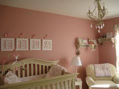 pink brown nursery art decor for baby textured acrylic