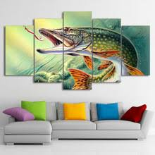 bass fishing home decor buy bass fishing art and get free shipping on aliexpress com