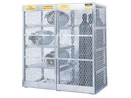 Horizontal Storage Cabinet Gas Cylinder Cage Outdoor Storage 10 Vertical U0026 8 Horizontal