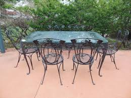 salterini vintage dining room set of wrought iron iron patio