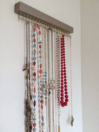 jewelry holder necklace images Diy jewelry holder jewellery holder necklace holder and bedrooms jpg