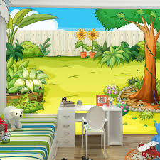 large mural wallpaper for children room background wall paper eco