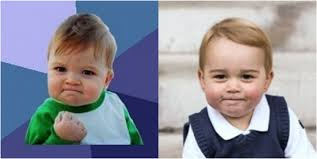 Success Meme Baby - prince george the ultimate success kid who2