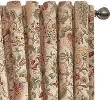 Waverly Curtain Panels Waverly Lined Curtain Ebay
