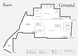 gift shop floor plan newcastle store directory fenwick