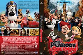 peabody u0026 sherman dvd cover 2014 r1 custom art