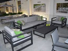 canape jardin aluminium best salon de jardin aluminium gris images amazing house design