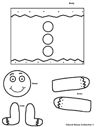 gingerbread toilet paper roll template library printables