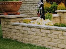 how to build a small garden wall rogers gardenstone