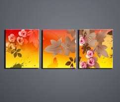 online get cheap home goods wall art canvas painting flowers
