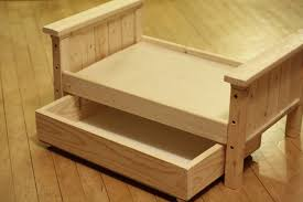 Plans For Bunk Bed With Trundle by Ana White Doll Bed And Trundle Diy Projects