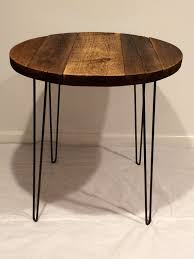Nantucket Bistro Table Bistro Table With Hairpin Legs Round Table By Swdesigns74 On Etsy