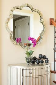 entryway inspiration pink orchid entryway inspiration with silver hall table