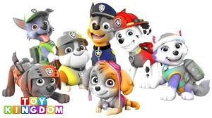 paw patrol best baby learn colors video for children coloring page