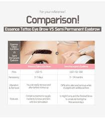 g9 skin essence tattoo eye brow 10g 2 types to choose hermo