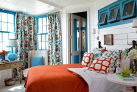 Red White And Blue Home Decor Colorful Home Decorating Ideas Decorating With Color