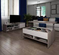 piece lift top storage coffee table and tv stand set