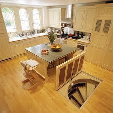 Wine Cellar Floor - this man put a secret window on his kitchen floor the reason genius