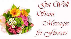 Get Well Soon Flowers Get Well Soon Messages For Flowers
