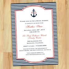 nautical bridal shower invitations bridal shower invitations interesting nautical bridal shower