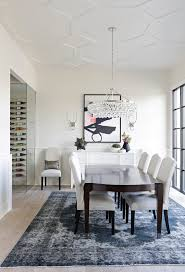 Chandelier Over Table Modern Dining Room Light Fixture Crystal Chandelier Over A Wooden