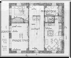 Straw Bale Floor Plans Straw Bale With Center Courtyard Turn Phase 2 Into A Mirror Of
