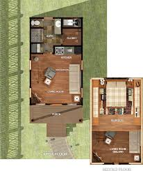 Tiny Cabin Plans by Texas Tiny Homes Plan 448