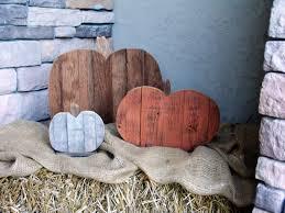 reclaimed barn wood pumpkin setfall porch