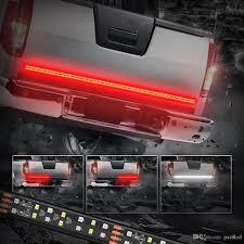 60 inch led light bar 60 inch 2 row led truck tailgate light bar strip red white reverse