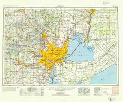 Maps Of Michigan Us Map With Detroit Consulates In The Us Consulate General Of