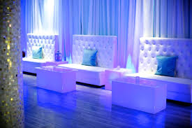 rooftop lounge decor for a birthday celebration theallegriahotel