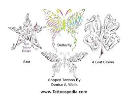 name tattoos made into butterfly 10