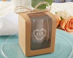 wine glass gift kraft 9 oz glassware gift box set of 12 kate aspen