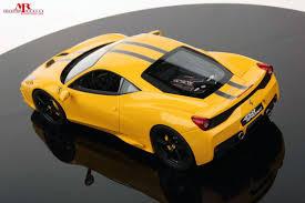 Ferrari 458 Yellow - ferrari 458 speciale 1 18 mr collection models
