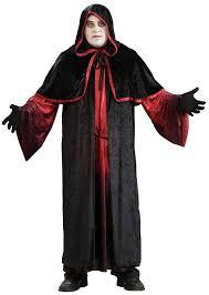 halloween costumes plus size amazon com forum novelties men u0027s demon robe costume black red