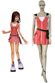 Kingdom Hearts Halloween Costumes Kingdom Hearts Kairi Red Dress Cosplay Costume Halloween Milanoo
