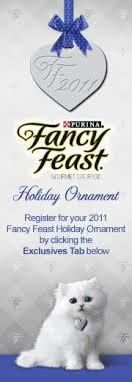 2011 fancy feast ornament time ornament