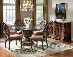 Contemporary Ashley Furniture Glass Dining Sets Room Round - Ashley furniture dining table images