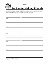 practice social skills with these worksheets for kids