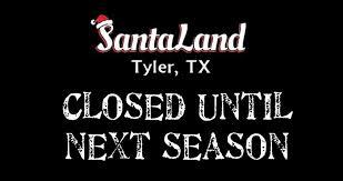 santa land here lighted sign santa land tyler tx home facebook