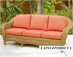 Replacement Cusions Thick Patio Cushions Modern Looks Wicker Cushions Wicker