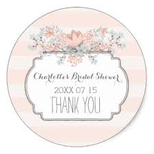 bridal shower favor tags aliexpress buy 3 8cm vintage stripes floral bridal shower