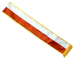 blank sashes parade sash for dyngus day