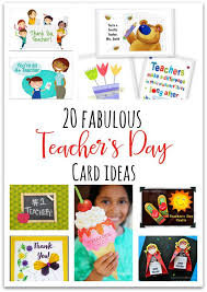 s day cards for kids best 25 handmade teachers day cards ideas on cards