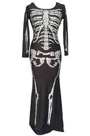 Skeleton Dress Online Shop Adogirl Women Black Cosplay Skull Performance Clothing