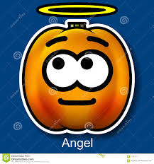 vector halloween vector halloween smiley angel stock vector image 57912117